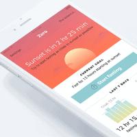 Zero fasting app