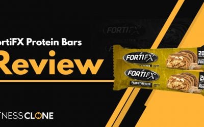 FortiFX Protein Bars Review – Is This Protein Bar Good For You?