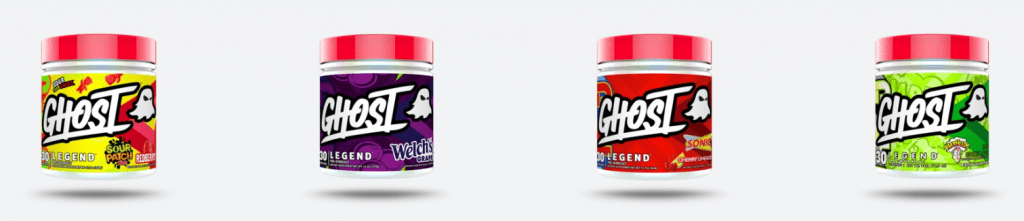 Ghost Legend Pre Workout Flavors