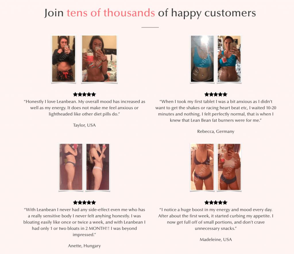Leanbean Customer Reviews