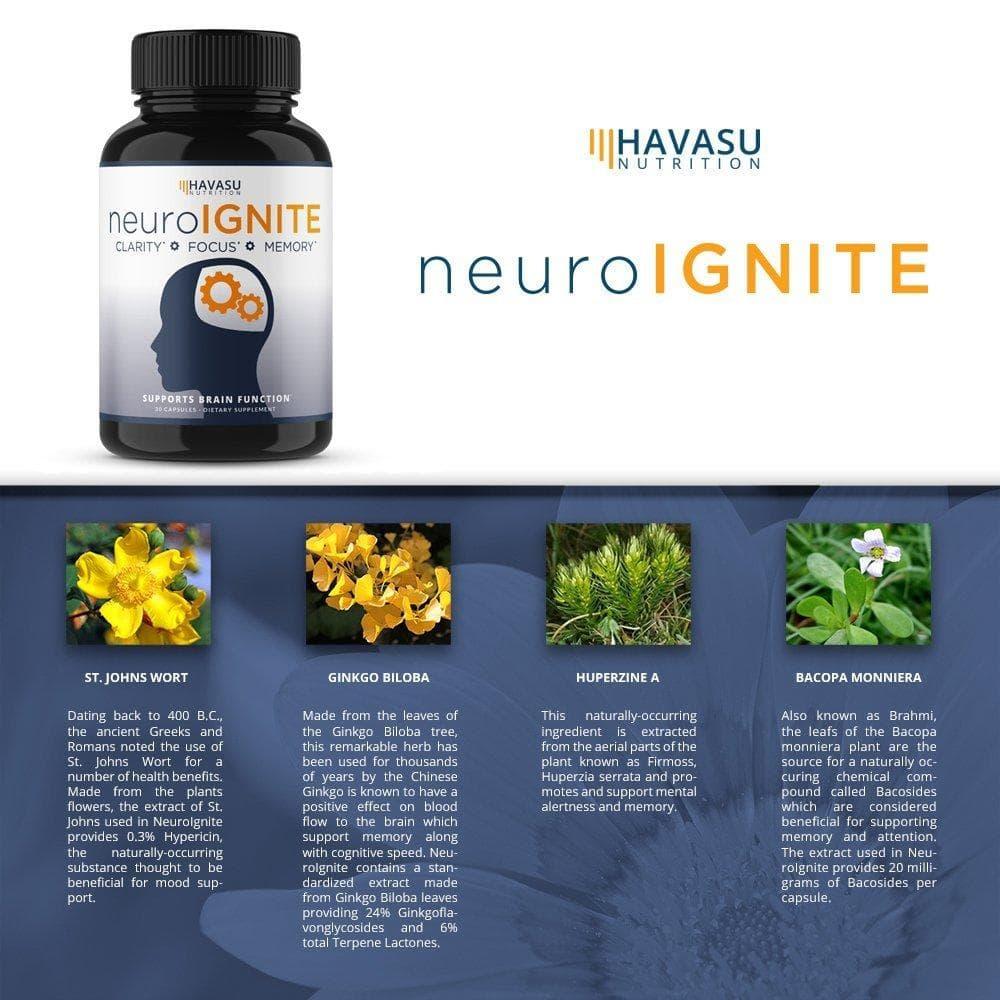 neuroignite supplement ingredients