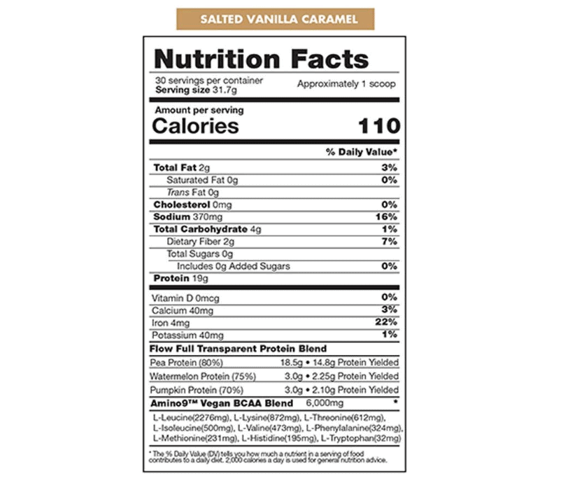 Flow Protein Ingredients