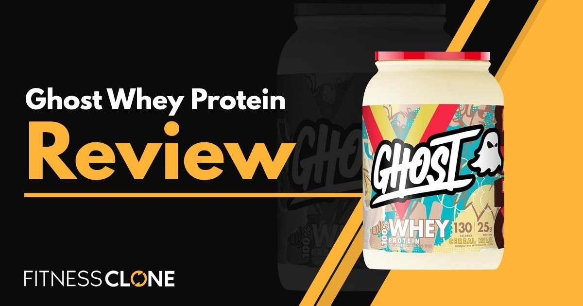 Ghost Whey Protein Review – Is It Right For You?