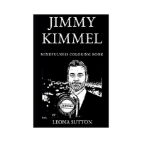 Jimmy Kimmel Mindfulness Coloring Book
