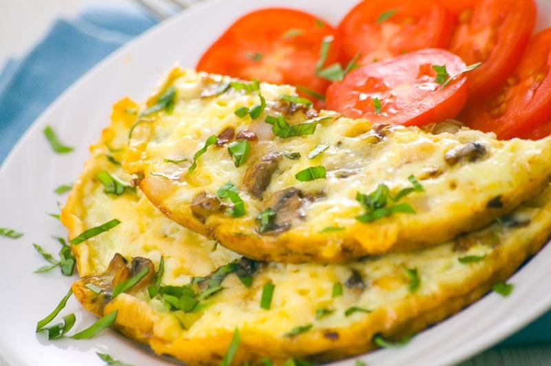 Keto Mushroom Omelette