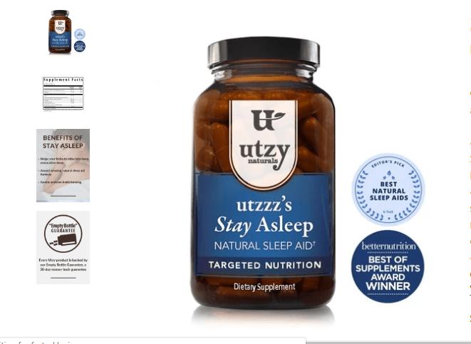 Utzzz's Stay Asleep