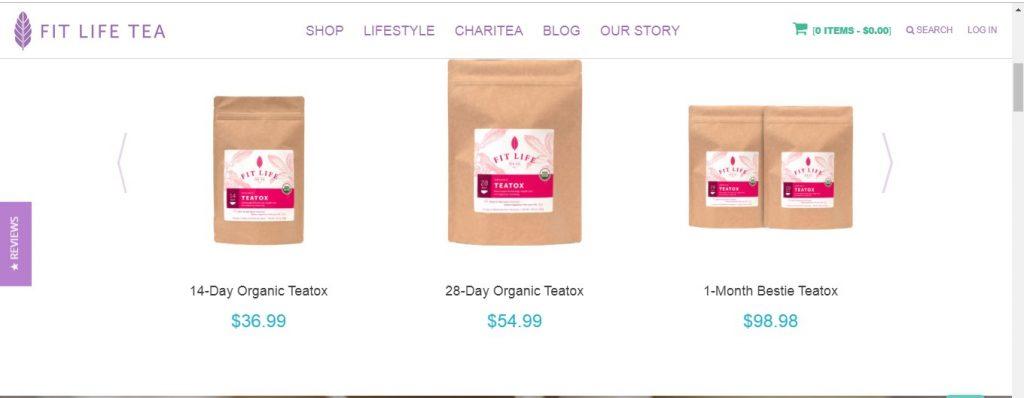 Buy fit life tea
