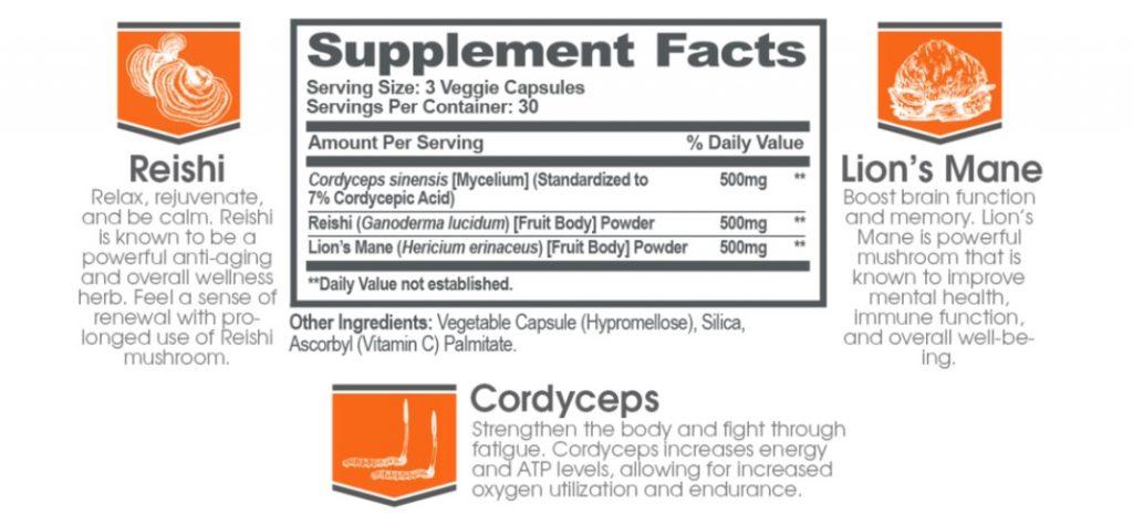 ingredients in Genius Sleep Aid