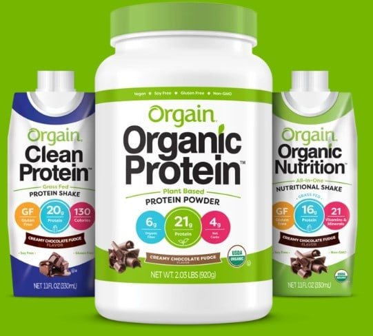 Orgain Protein Products    Review