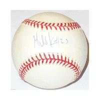 Gabe Kapler signed baseball