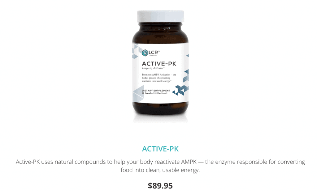 ACTIVE-PK From LCR Website