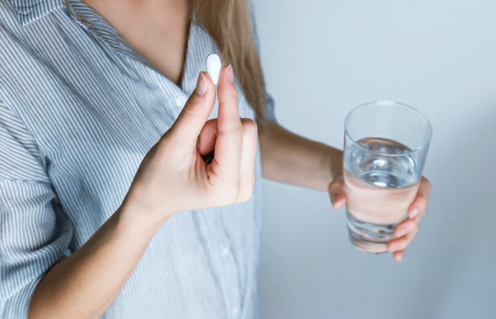 Alani Nu Balance Dietary Supplement tablet