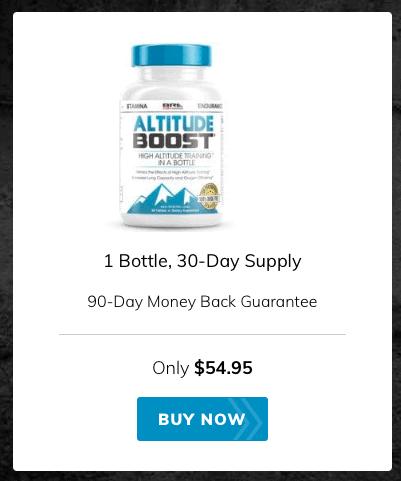 Altitude Boost Training Supplements Website