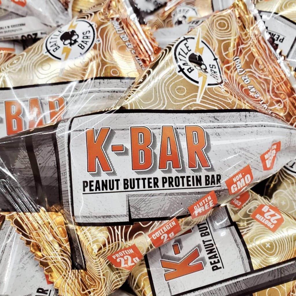 Battle Bars Peanut Butter Bar