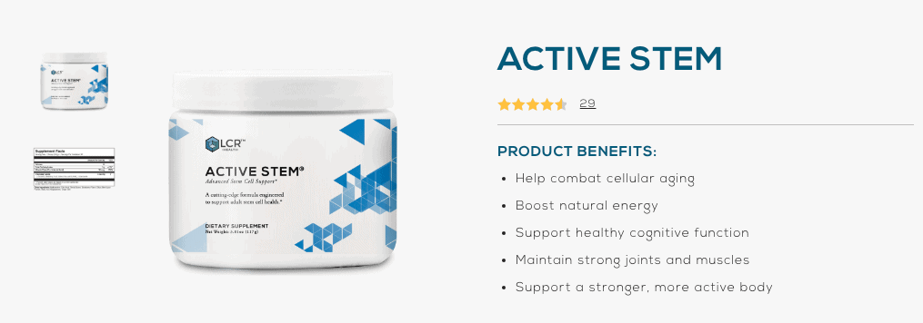 Buy Active Stem
