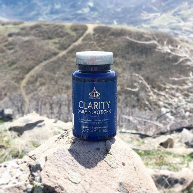 Clarity Daily Nootropic by Thrivous