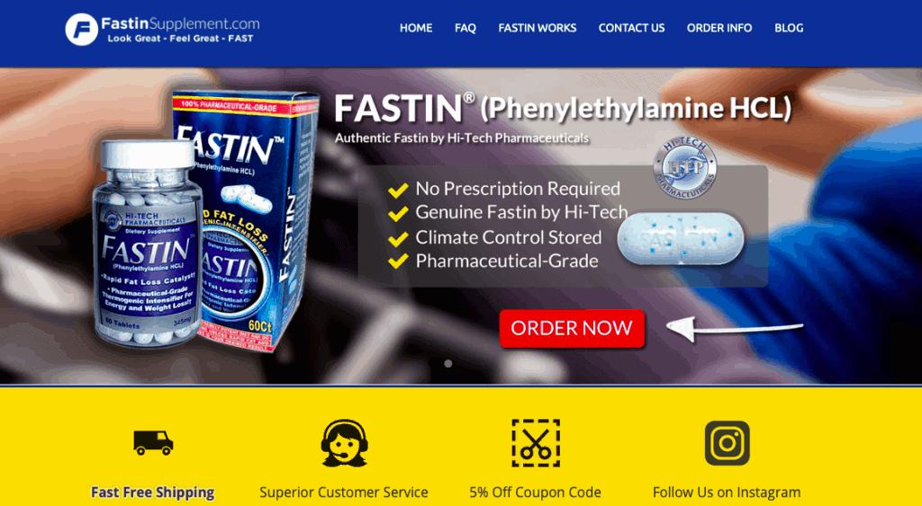 Fastin Supplement official website