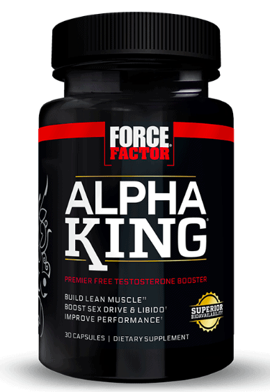 Force Factor Alpha King Product