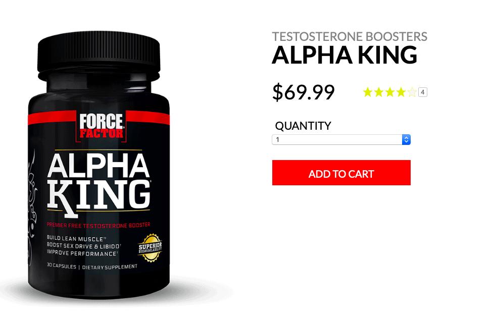 Force Factor Alpha King Website