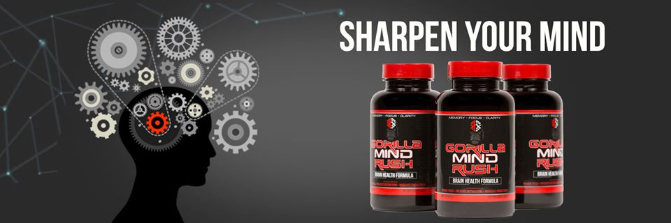 Gorilla Mind Rush Nootropic-Sharpen your Mind