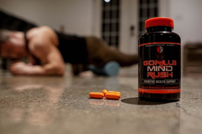 Gorilla Mind Rush Nootropic workout