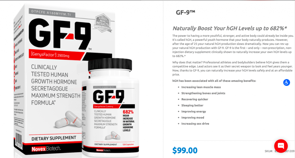Growth Factor-9 Website
