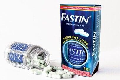 Hi-Tech Pharmaceuticals Fastin Box and bottle