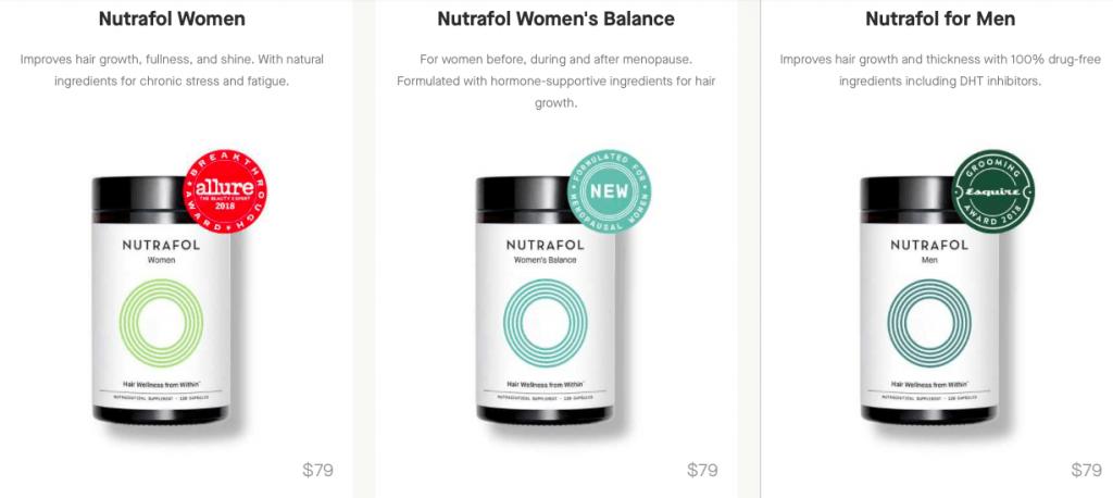 Nutrafol Hair Growth Website