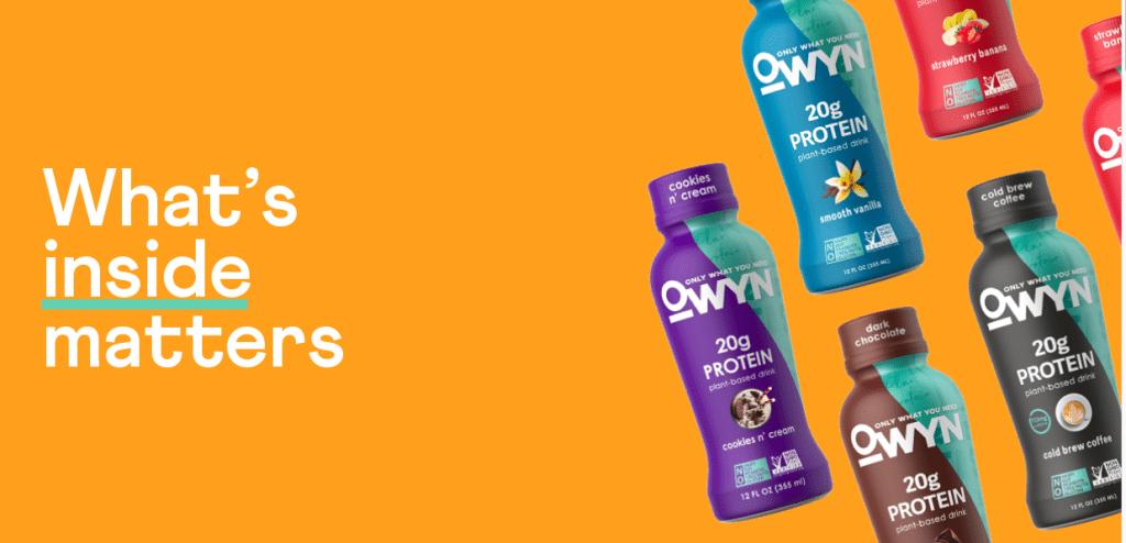 Owyn Vegan Protein Shakes