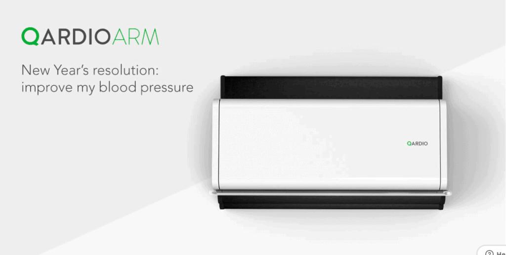 QardioArm Digital Blood Pressure Monitor