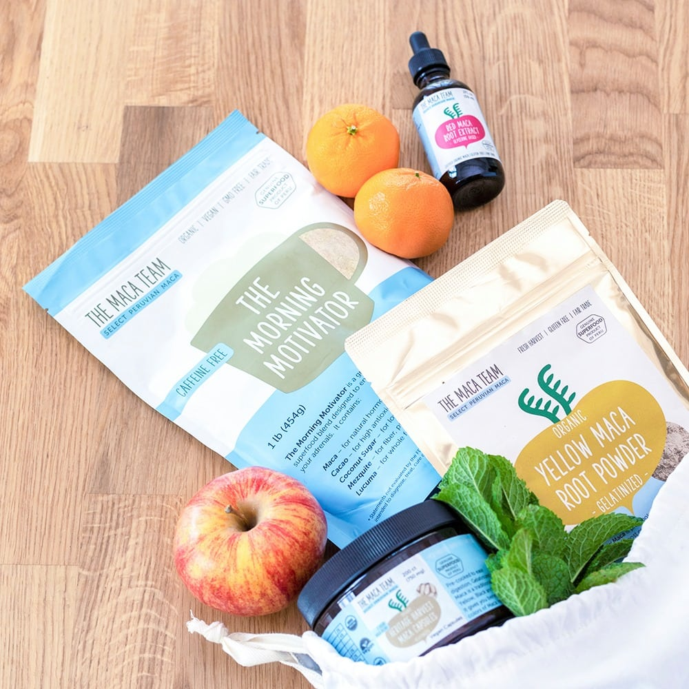 The Maca Team Products