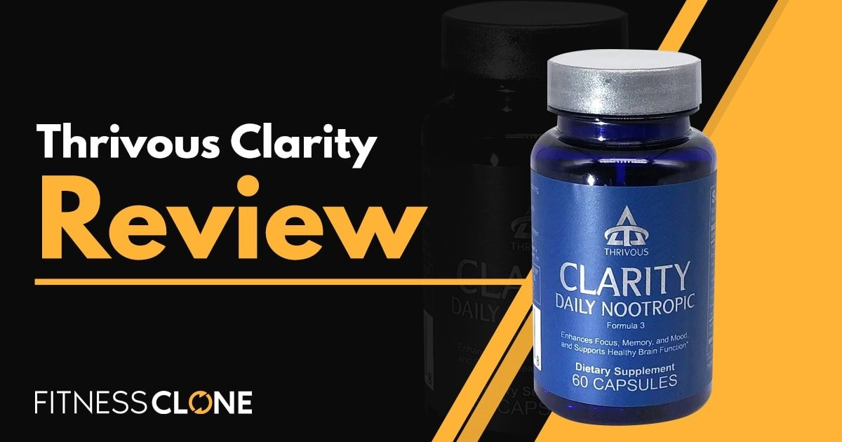 Thrivous Clarity Review – How Does This Brain Supplement Stack Up?