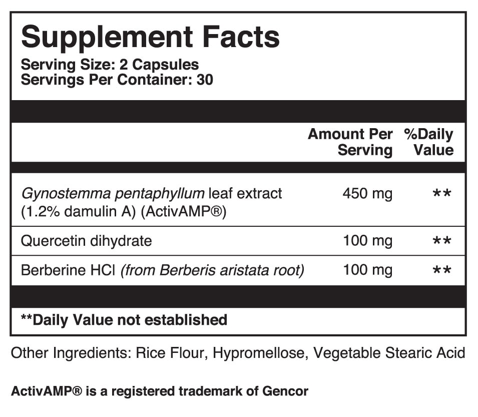Active PK Dietary Supplement Facts
