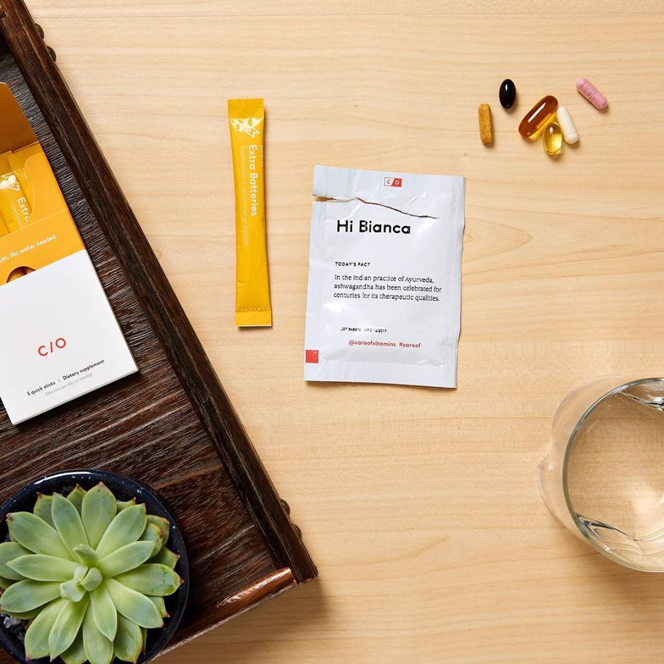 Care Of Personalized Daily Vitamin Packs
