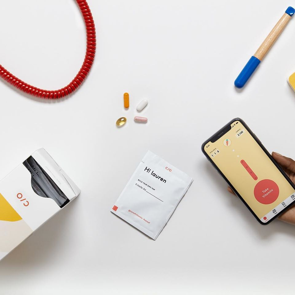 Personalized Daily Vitamin Packs