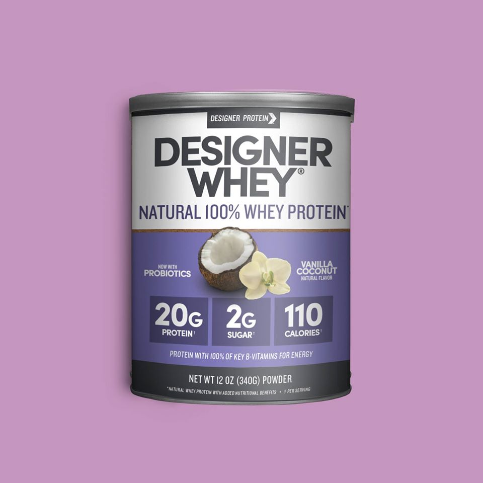 Designer Whey 100% Whey Protein Product