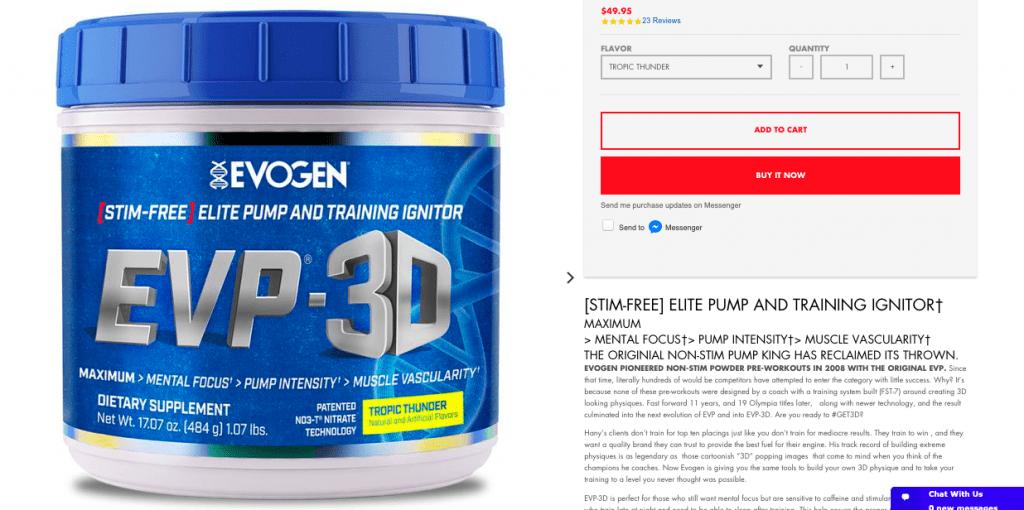 Evogen EVP-3D Product