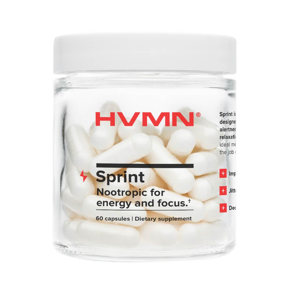 HVMN Sprint Nootropics Supplement