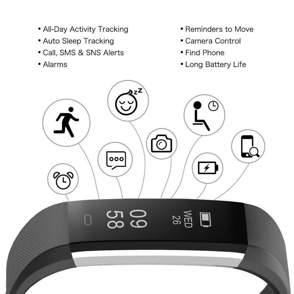 LETSCOM Fitness Tracker Capabilities