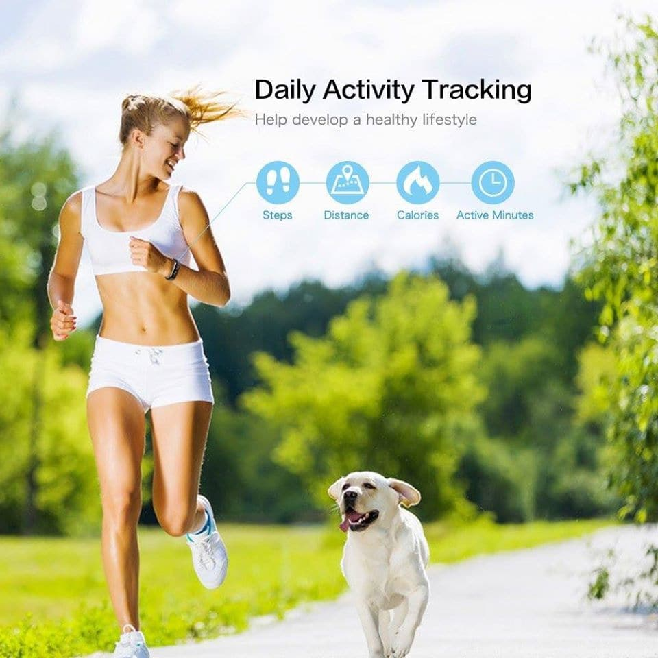 How does Letscom Fitness Tracker work