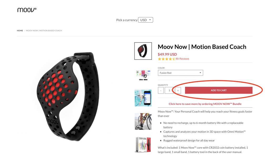Moov Now Website