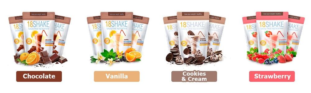 18 Shake Choco