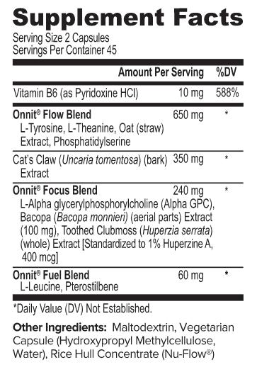 Alpha Brain Ingredients
