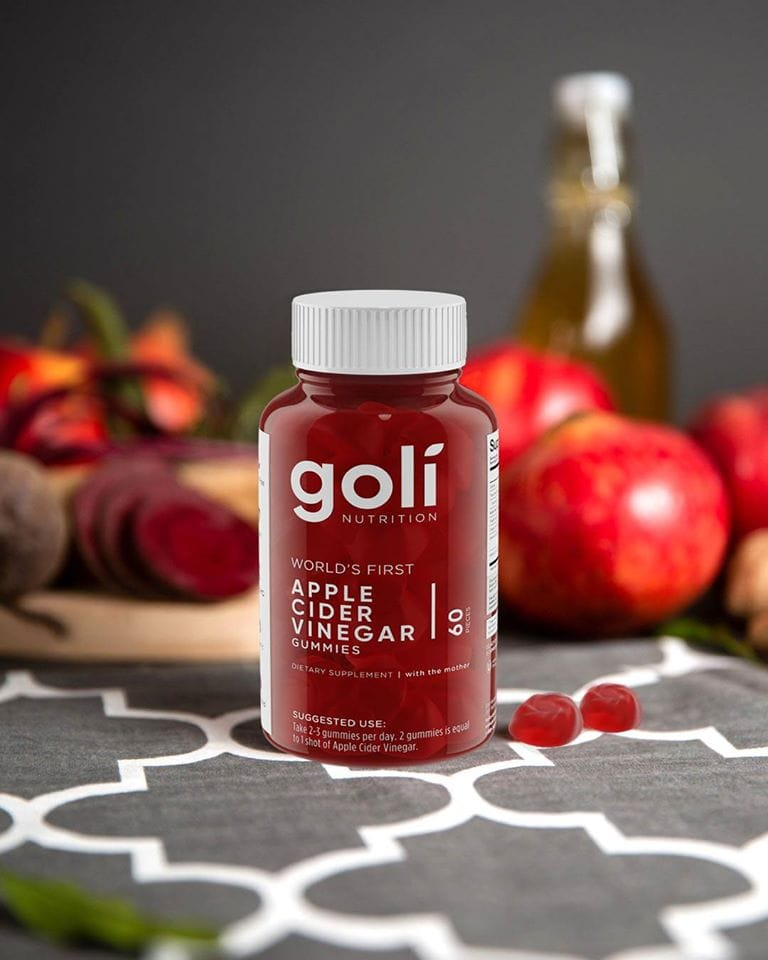 Goli Apple Cider Vinegar Gummies bottle