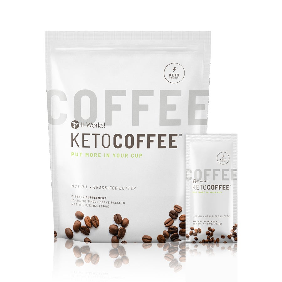 It Works Keto Coffee Product