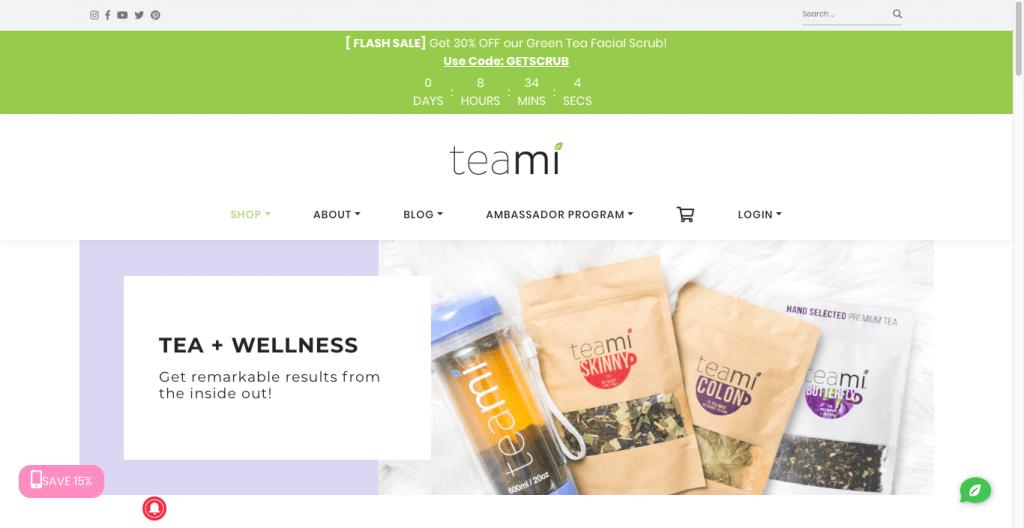 Teami Website