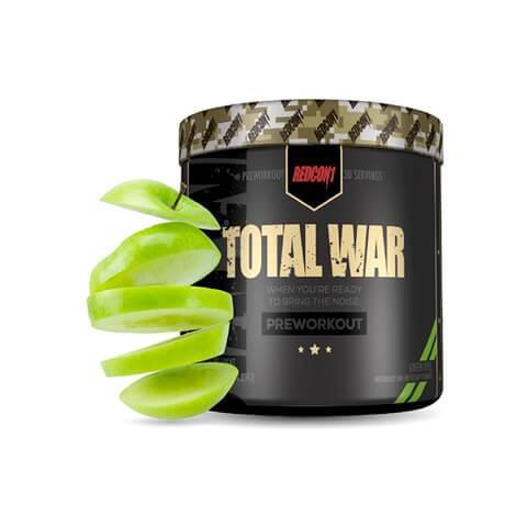 Total War Pre Workout Powder Apple