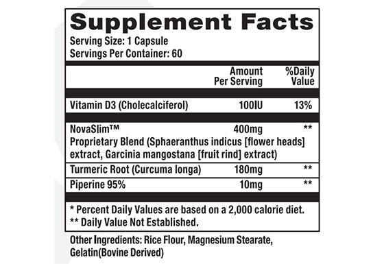 Oxitrim Diet Pills Ingredients