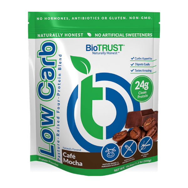 BioTrust Protein Powder cafe mocha