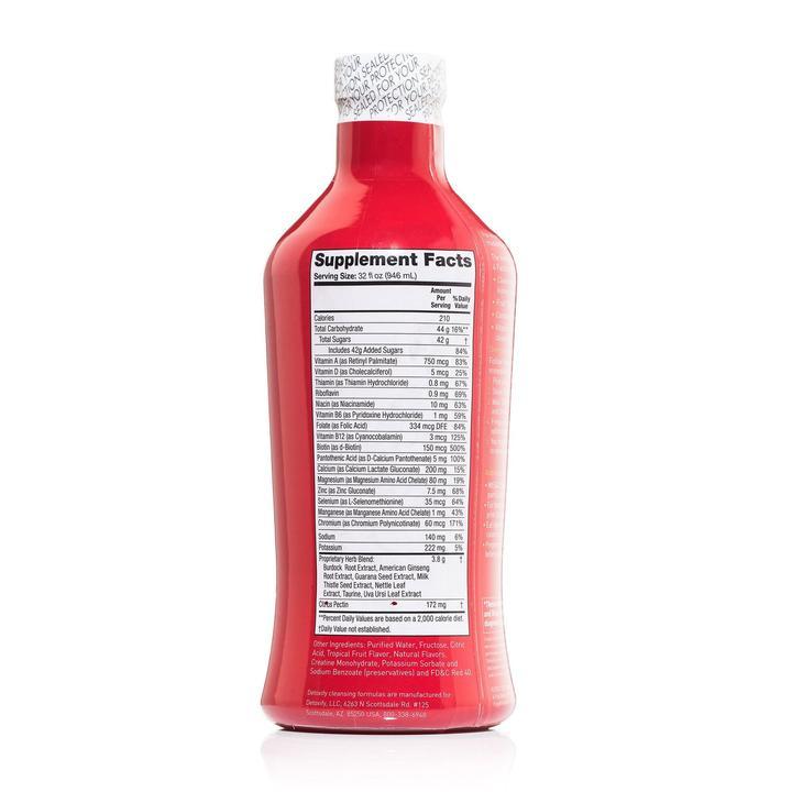 Detoxify Mega Clean Supplement facts